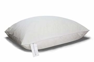 Billerbeck Soft-Down 15 Kopfkissen, Baumwolle, weiß, 80x80 - 2
