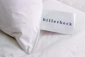 Billerbeck Soft-Down 15 Kopfkissen, Baumwolle, weiß, 80x80 - 4