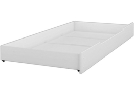 Erst-Holz® Bettkasten als Staukasten für unsere Etagenbetten - Kiefer weiß - 90.10-S1 W - 1