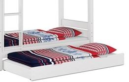 Erst-Holz® Bettkasten als Zusatzbett für unsere Etagenbetten - inkl. Matratze - 90.10-S7 W M - 1