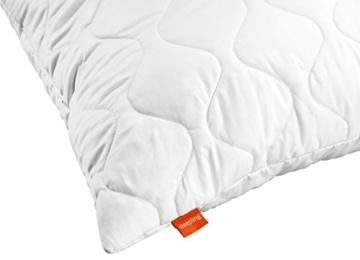 sleepling 2er Set 191122 Komfort 100 Kopfkissen Mikrofaser 80 x 80 cm, weiß - 2