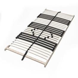 VitaliSpa 7-Zonen-Lattenrost 90x200cm Premium Härtegradverstellung Komfort (Einzeln) - 1