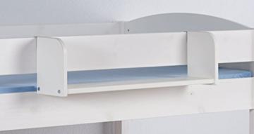 Hängeregal NELE Groß - für Hochbett, Spielbett und Etagenbett - weiß - LILOKIDS - 2