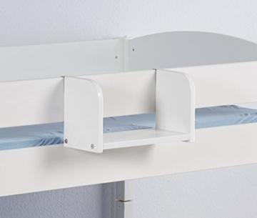 Hängeregal NELE Klein - für Hochbett, Spielbett und Etagenbett - weiß - LILOKIDS - 2
