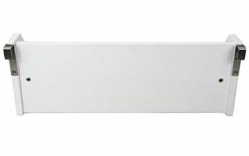 Weiß Bambus Hängeregal für Kinder Bett - 3