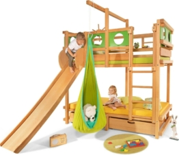 Etagenbett aus Massivholz für Kinder (Billi-Bolli) | Kinderbett, Stockbett