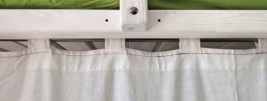 Kinderhochbett Vorhang