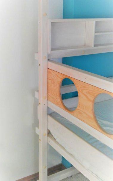 mitwachsendes Kinderhochbett